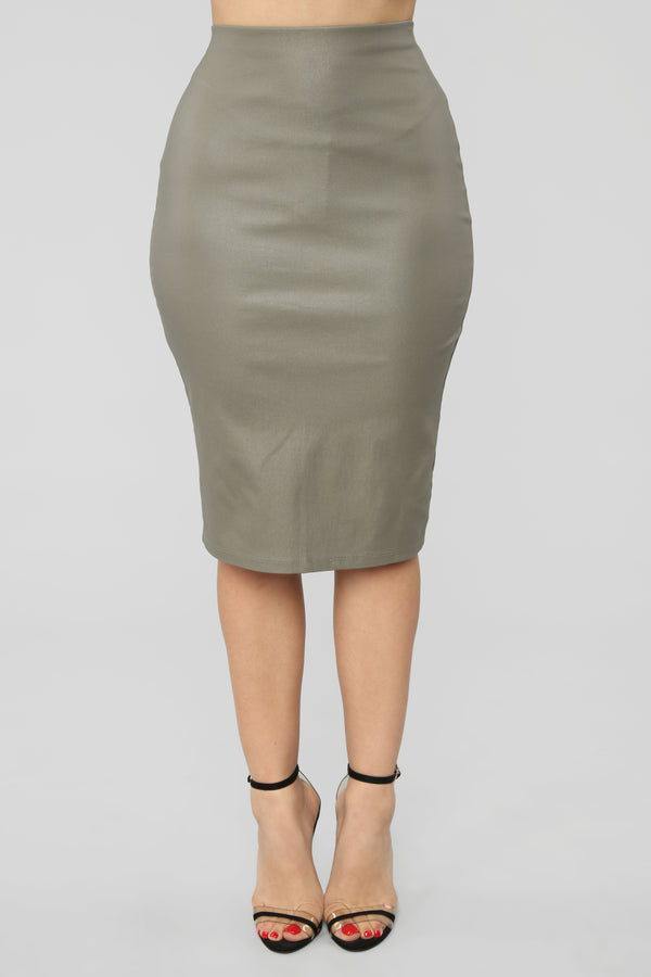ef57b8c06fe Won t Let You Down Skirt - Olive