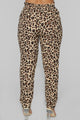 Puurfect Tie Front Pant - Black/Tan