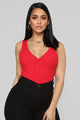 Major Key Bodysuit - Red