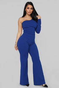 Downtown Adventures Jumpsuit - Royal