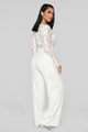 Rooftop Views Jumpsuit - White