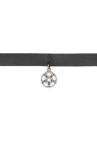 Wish On A Star Choker - Black