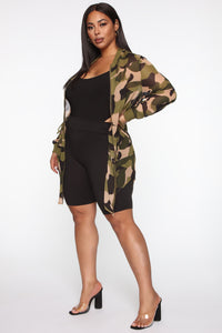 On Board Camo Jacket - Camouflage