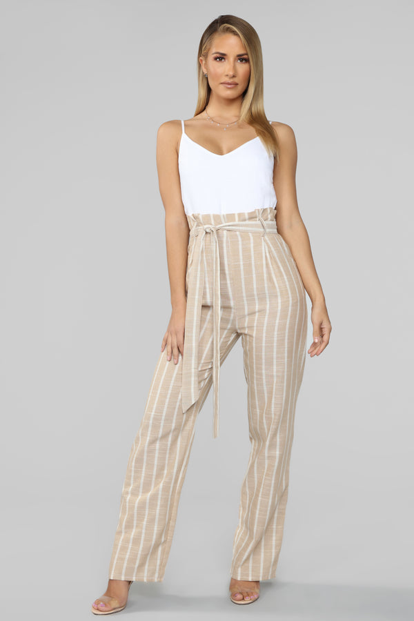 e1f47c9218 Switchin  It Up Jumpsuit - White Taupe