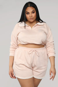 Forever Cute Lounge Set - Blush Angle 9