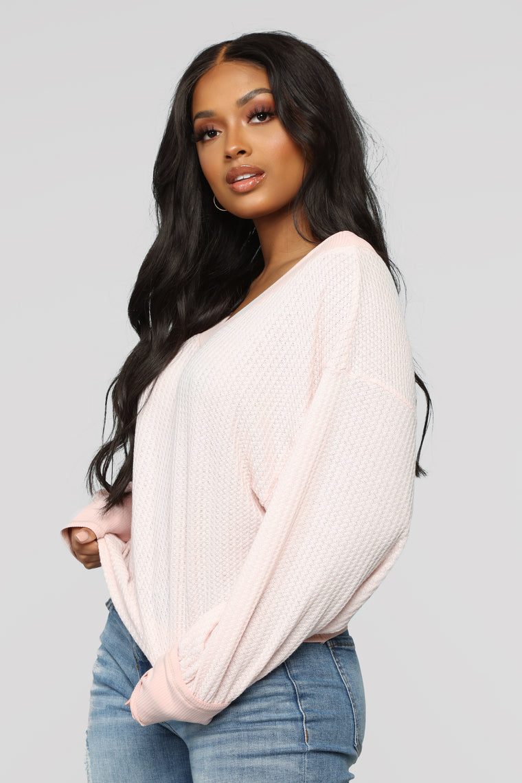 Beckie Top -Light Pink