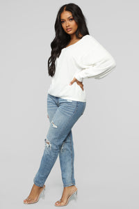 Beckie Top - White