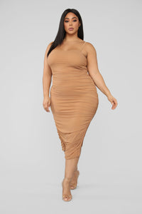 Feeling My Mesh Dress - Nude Angle 5