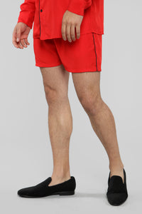 Classic Stan Short -Red/Black Angle 3