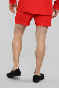 Classic Stan Short -Red/Black Angle 5