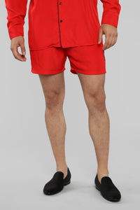 Classic Stan Short -Red/Black Angle 1