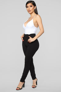 Working Woman Pants - Black Angle 3