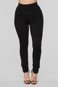 Working Woman Pants - Black Angle 2