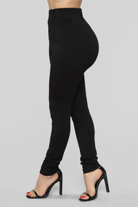 Working Woman Pants - Black Angle 4