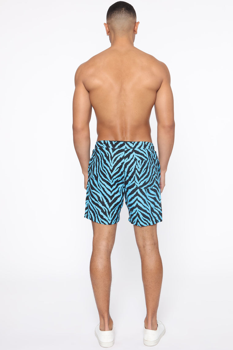 The Animal Inside Board Shorts - Blue/combo