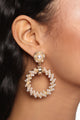 So Twisted Earrings - Gold