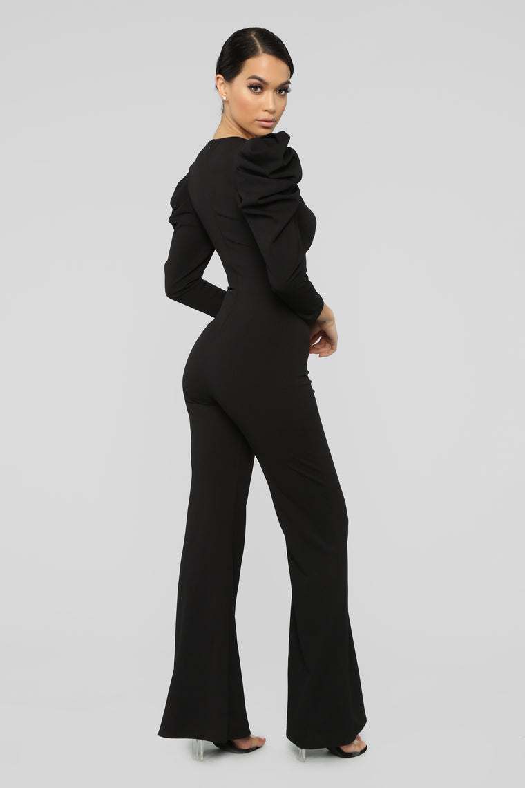 Big Moves Jumpsuit - Black