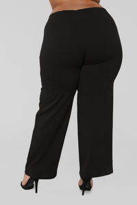 A Life's Work Pants - Black Angle 6