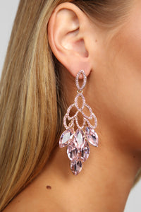 Mimi Earrings - Pink