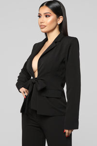 Bright Idea Suit Set - Black