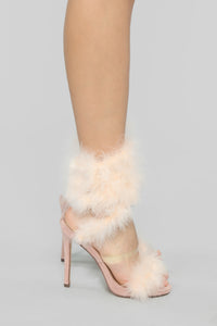 Keep On Dreaming Heeled Sandals - Nude