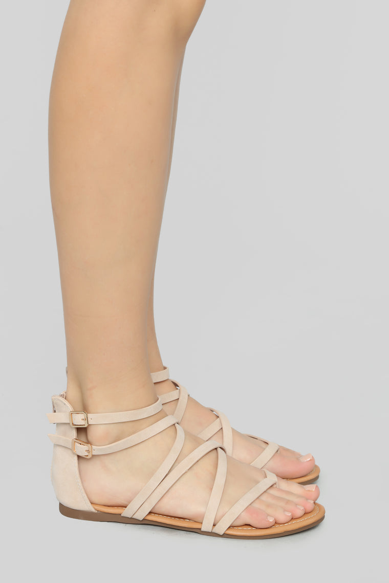 But Seriously No Flat Sandals - Nude