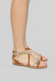 Are We There Yet Flat Sandals - Tan