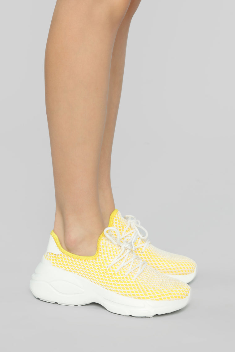 Move It Along Sneaker - Yellow