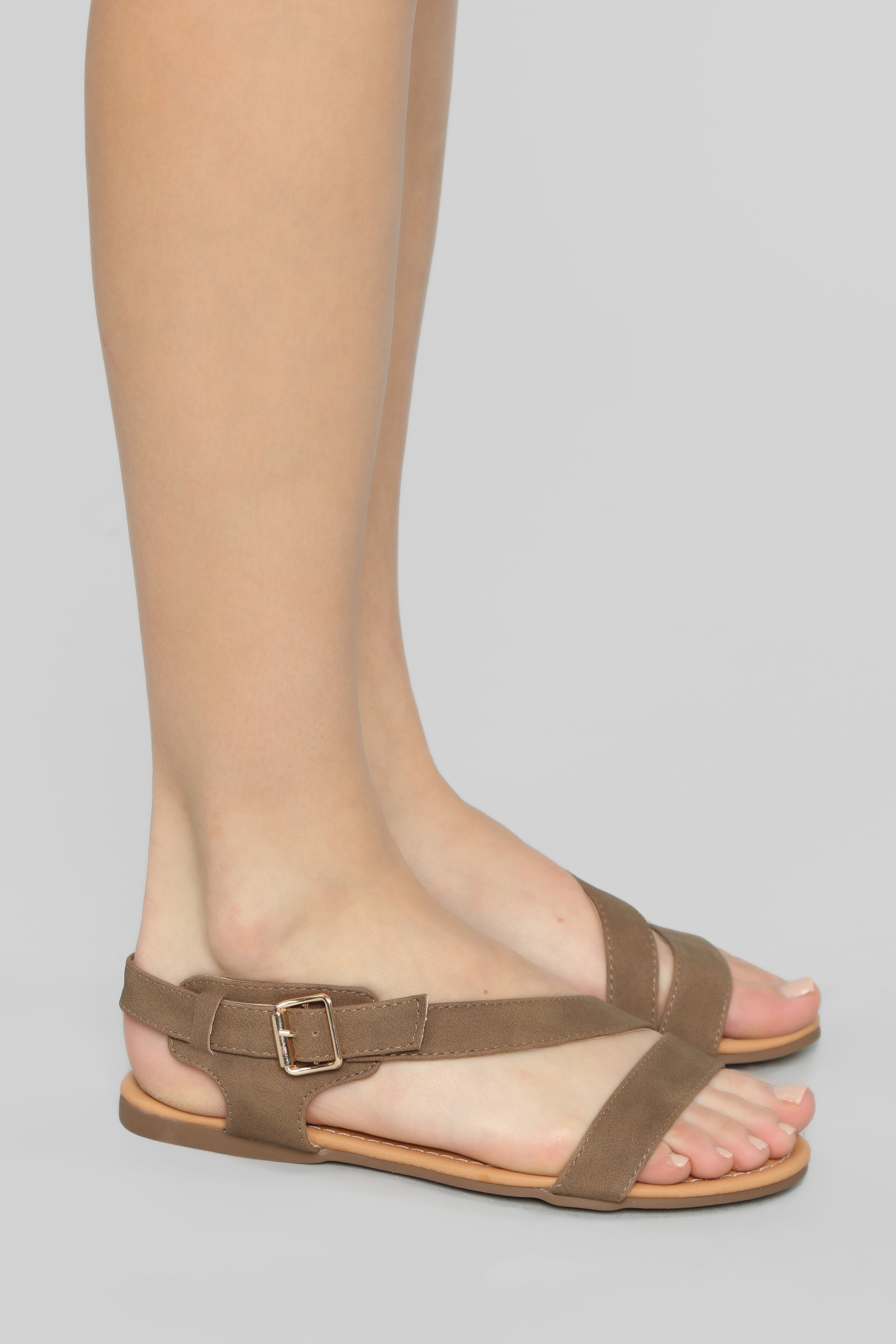 Flat Total Taupe Sandals In Honesty VLzUMqSpG