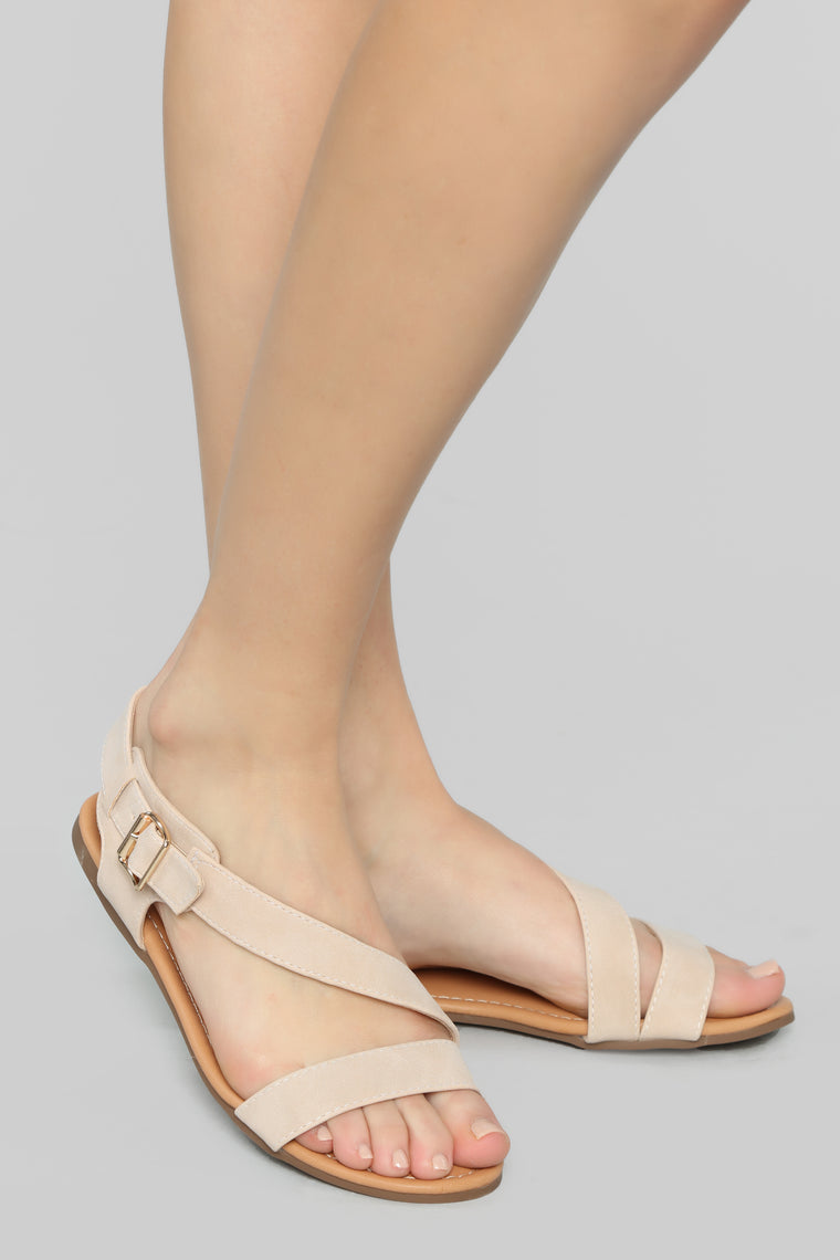 In Total Honesty Flat Sandals - Nude