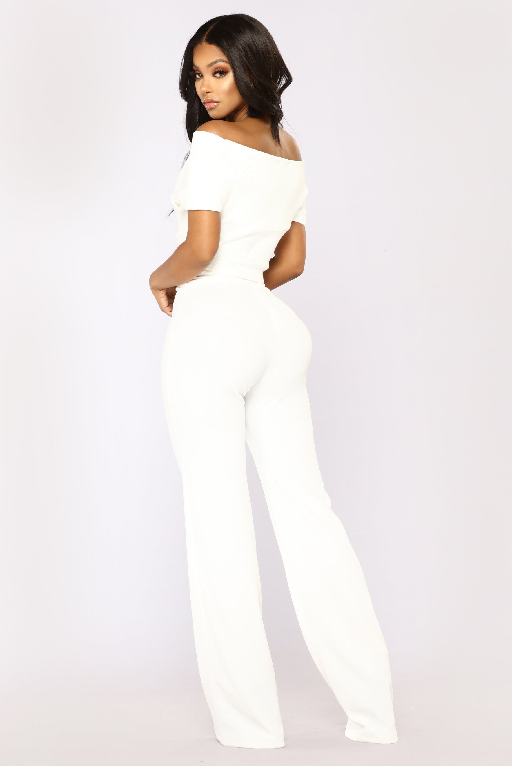 36d4ae49fb8 So Empowered Off Shoulder Top - White