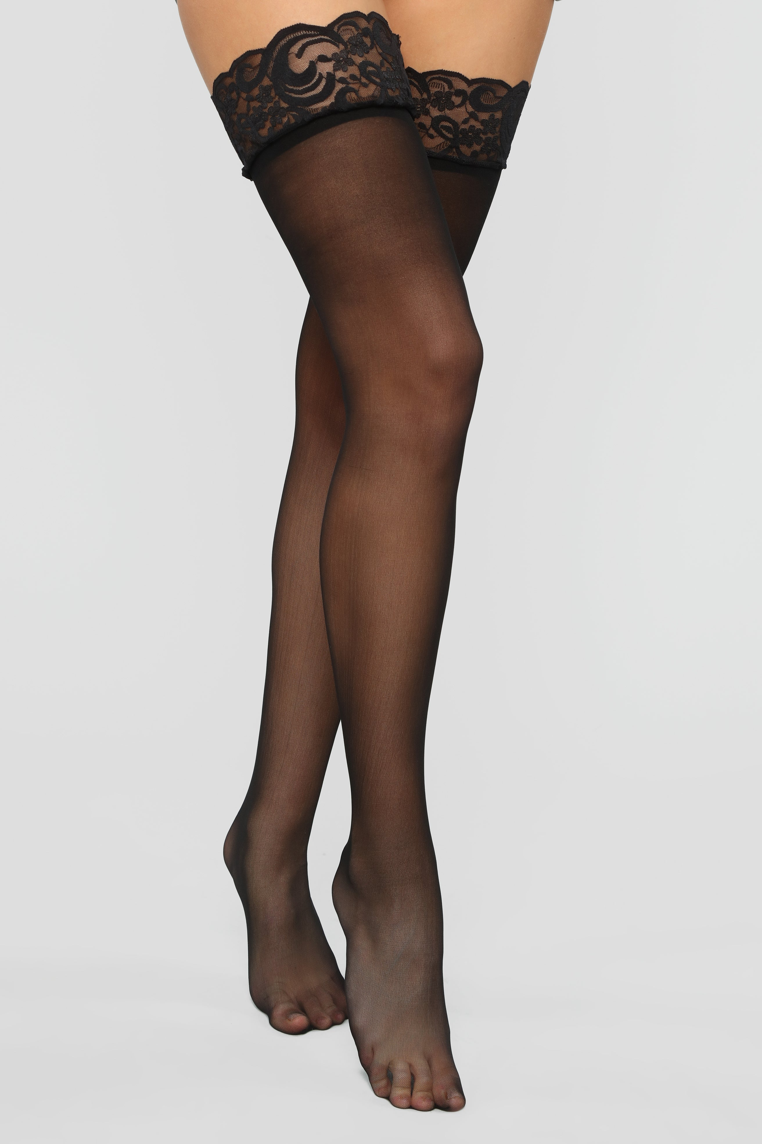 211e53c7d ... Thigh High Stockings - Black. STYLED ON INSTAGRAM