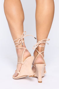 Girl's Trip Wedges - Nude Angle 4