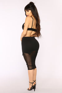 Out For The Night Bandage Set - Black