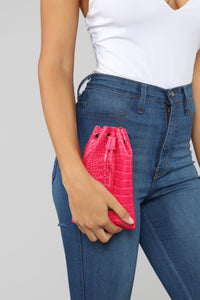 Cinch That Waist Belt Bag - Fuchsia