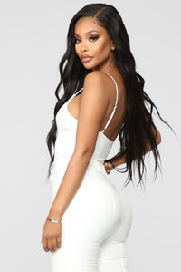 Here To Stay Bodysuit - White