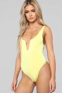 Call Me Baby Girl Bodysuit - Yellow