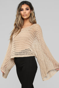 Freedom Lover Top - Taupe