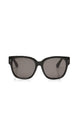 I'm Real Sunglasses - Black/Smoke