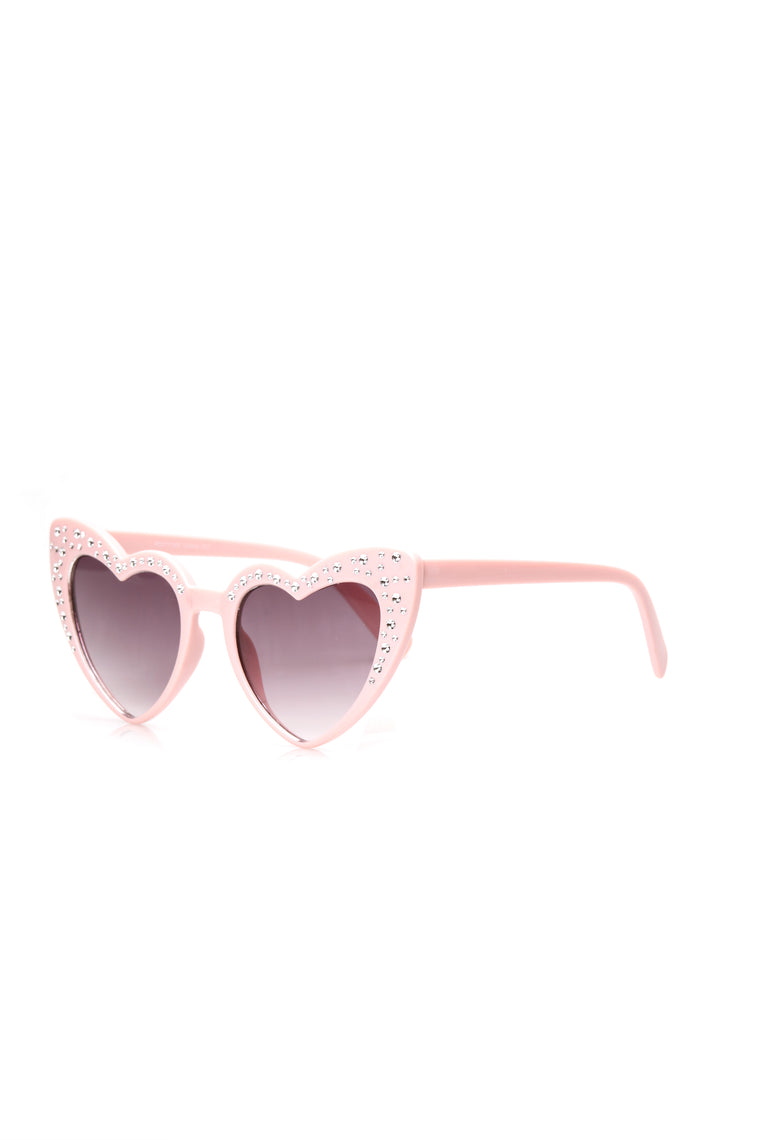 Fortunate To Have You Sunglasses - Pink