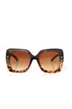The Standard Sunglasses - Black/Tortoise