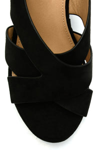 Fill Me In Wedge - Black