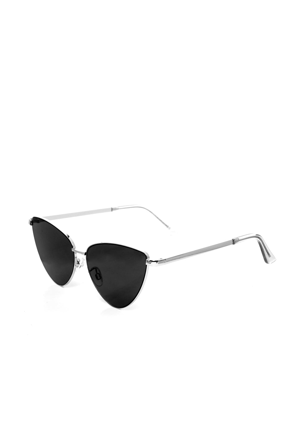 Hanalei Bay Sunglasses - Silver/Black