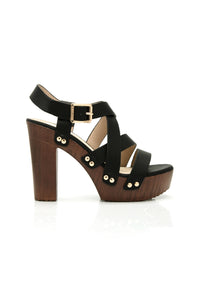Strollin' Downtown Block Heel - Black