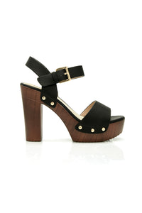 Block Queen Heel - Black