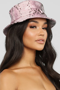 Bite Me Bucket Hat - Lilac