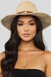 Giddy Up Hat - Brown