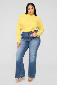 Find My Love Top - Mustard Angle 7