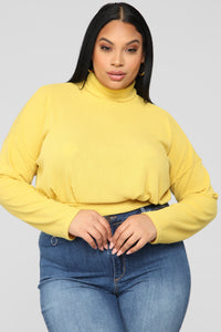 Find My Love Top - Mustard Angle 6