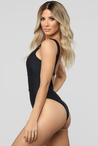 Never Coming Back Swimsuit - Black